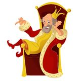 Cartoon King Royalty Free Stock Images