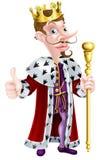 Cartoon King Stock Photo