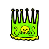 Cartoon kings crown Royalty Free Stock Image