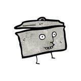 Cartoon kitchen pan Stock Photo