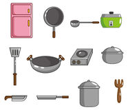 Cartoon kitchen tool icon Royalty Free Stock Photo