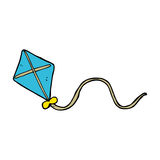 Cartoon kite Stock Photo