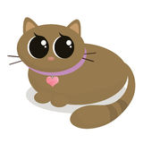 Cartoon Kitty Royalty Free Stock Images