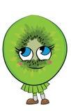Cartoon kiwi character Royalty Free Stock Photo