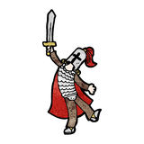 Cartoon knight Royalty Free Stock Photo