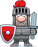 Cartoon Knight in Armor Royalty Free Stock Photography