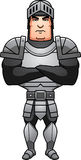 Cartoon Knight Arms Crossed Royalty Free Stock Images