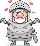 Cartoon Knight Hug Royalty Free Stock Photography