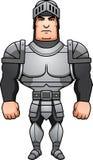 Cartoon Knight Standing Stock Photo