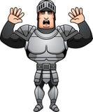 Cartoon Knight Surrender Royalty Free Stock Photo