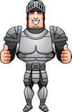 Cartoon Knight Thumbs Up Royalty Free Stock Photos