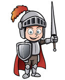 Cartoon knight. Vector illustration of Cartoon knight Royalty Free Stock Image