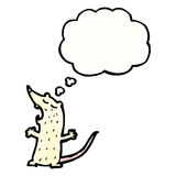 Cartoon lab rat Royalty Free Stock Images