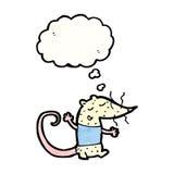 Cartoon lab rat Stock Photos