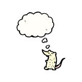 Cartoon lab rat Stock Photo