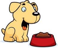 Cartoon Labrador Food Royalty Free Stock Photography
