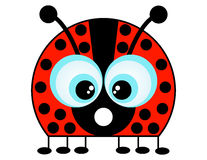 A Cartoon Ladybug Royalty Free Stock Photo