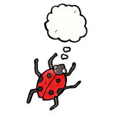 Cartoon ladybug Stock Image