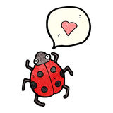 Cartoon ladybug Royalty Free Stock Photos