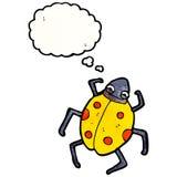 Cartoon ladybug Royalty Free Stock Photo