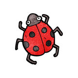 Cartoon ladybug Royalty Free Stock Photo