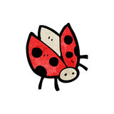 Cartoon ladybug Royalty Free Stock Image