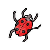 Cartoon ladybug Stock Photos