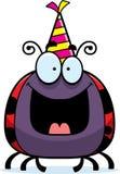 Cartoon Ladybug Birthday Party Royalty Free Stock Photography