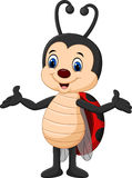 Cartoon ladybug posing. Illustration of Cartoon ladybug posing vector illustration