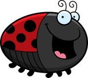 Cartoon Ladybug Smiling Stock Photography