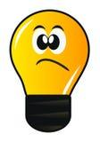 Cartoon lamp Stock Photography