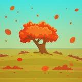 Cartoon Landscape Stock Images