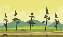 Cartoon Landscape Royalty Free Stock Photo