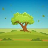 Cartoon Landscape Royalty Free Stock Image