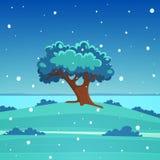 Cartoon Landscape Stock Image