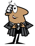 Cartoon lawyer. Cartoon illustration of a lawyer Royalty Free Stock Images
