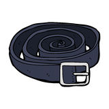 cartoon leather belt Stock Image