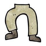 Cartoon legs Stock Photo
