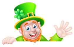 Cartoon Leprechaun Royalty Free Stock Photo