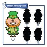 Cartoon Leprechaun game Stock Photos
