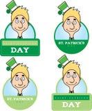 Cartoon Leprechaun Graphic Royalty Free Stock Photography