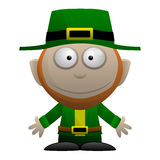 Cartoon Leprechaun Royalty Free Stock Photography