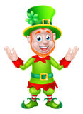 Cartoon Leprechaun Royalty Free Stock Images