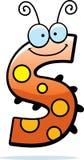 Cartoon Letter S Bug Stock Photo