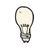 Cartoon light bulb Royalty Free Stock Photos
