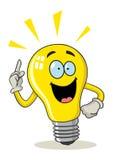 Cartoon Light Bulb Stock Image