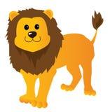 Cartoon lion. Illustration of a cartoon lion Royalty Free Stock Photography