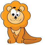 Cartoon lion Royalty Free Stock Images
