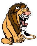 Cartoon lion Stock Image