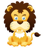 Cartoon lion Stock Image